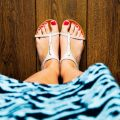 Summer Ready Feet in Sandals
